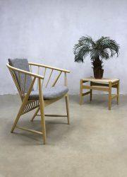Vintage sun feather spindle chair spijlen stoel Sonna Rosen Nässjö Stolfabrik