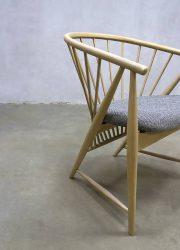 Vintage design spijlen stoel spindle back chair midcentury modern design Sonna Rosen