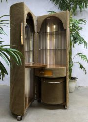 moulin rouge stijl kaptafel round dressing table sixties jaren 60