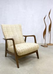 Vintage Deense Alf Svensson lounge fauteuil Danish easy chair 'Kontur' Fritz Hansen
