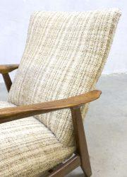 vintage Deense kontur lounge chair arm chair easy chair Alf Svensson Frtiz Hansen