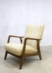 Vintage Alf Svensson lounge chair Deense fauteuil Fritz Hansen
