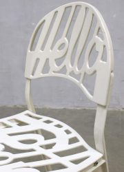 vintage retro hello there stoel chair Artifort design