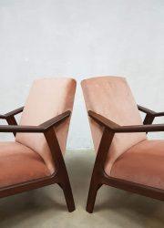Deens design stoel fauteuil Danish armchair lounge chair