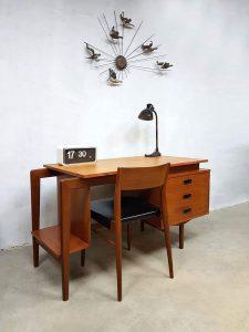 Danish midcentury vintage design writing desk Deens bureau