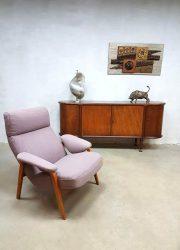 Artifort lounge stoel fauteuil Dutch vintage design Theo Ruth jaren 50