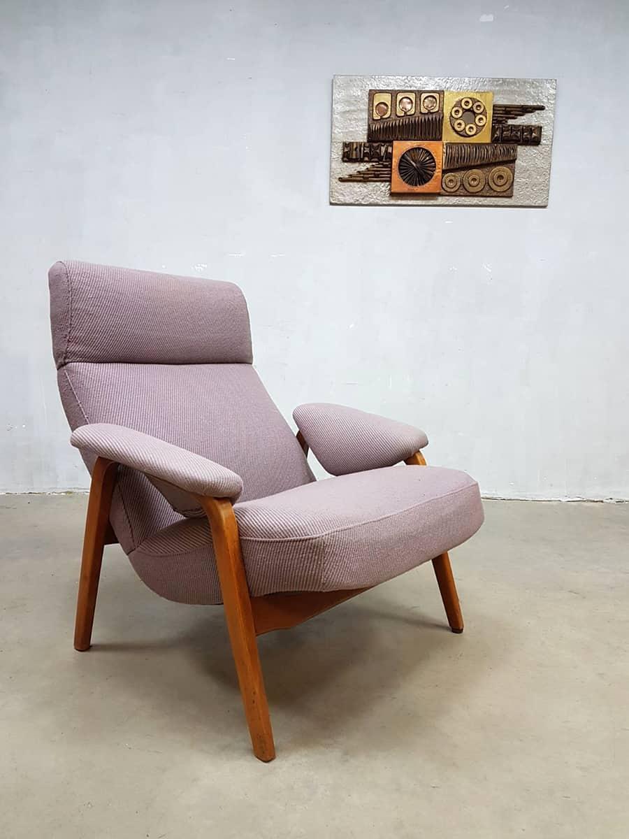 Vintage dutch design lounge fauteuil theo ruth artifort for Dutch design eetkamerstoelen