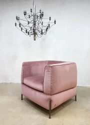 Italian design lounge chair arm chair Natuzzi model 2705