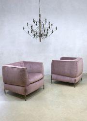 Italian design fauteuil armchair lounge chair model 2705 Anteprima Natuzzi