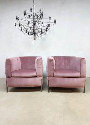 Italiaanse lounge fauteuil armchair Natuzzi model 2705