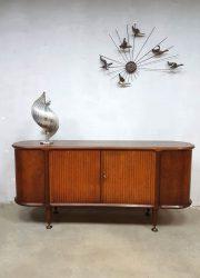 Vintage midcentury modern Dutch design dressoir sideboard A.A. Patijn Zijlstra