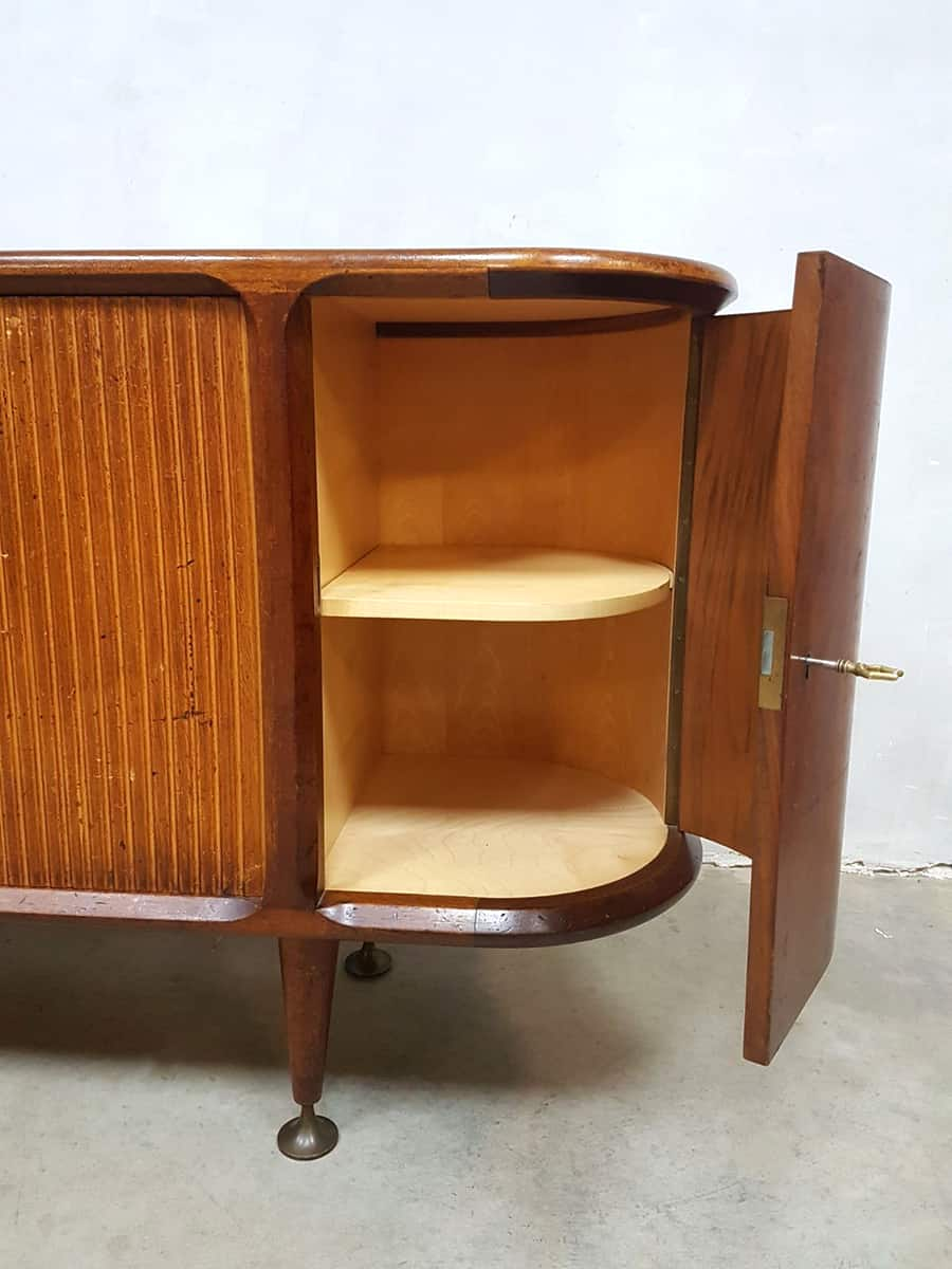 Vintage Midcentury Modern Dutch Design Dressoir Sideboard