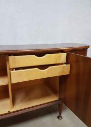 Midcentury modern art deco cabinet sideboard Dutch design A. Patijn Zijlstra