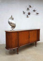 Vintage midcentury modern Dutch design dressoir sideboard A.A. Patijn Zijlstra cabinet