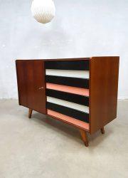 vintage colored sideboard chest of drawers Jiri Jiroutek Praha