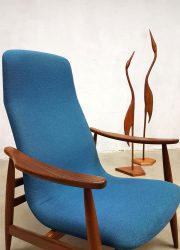 dutch midcentury modern armchair lounge chair Scandinavian style Danish style