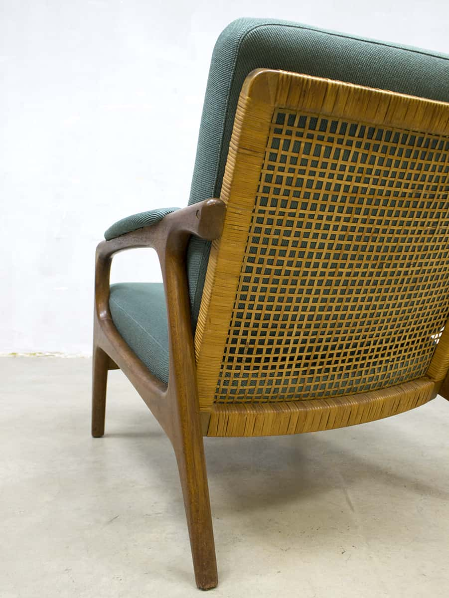 Deens Design Vintage Bank.Vintage Danish Design Lounge Set Sofa Armchairs Bank Fauteuils Deens