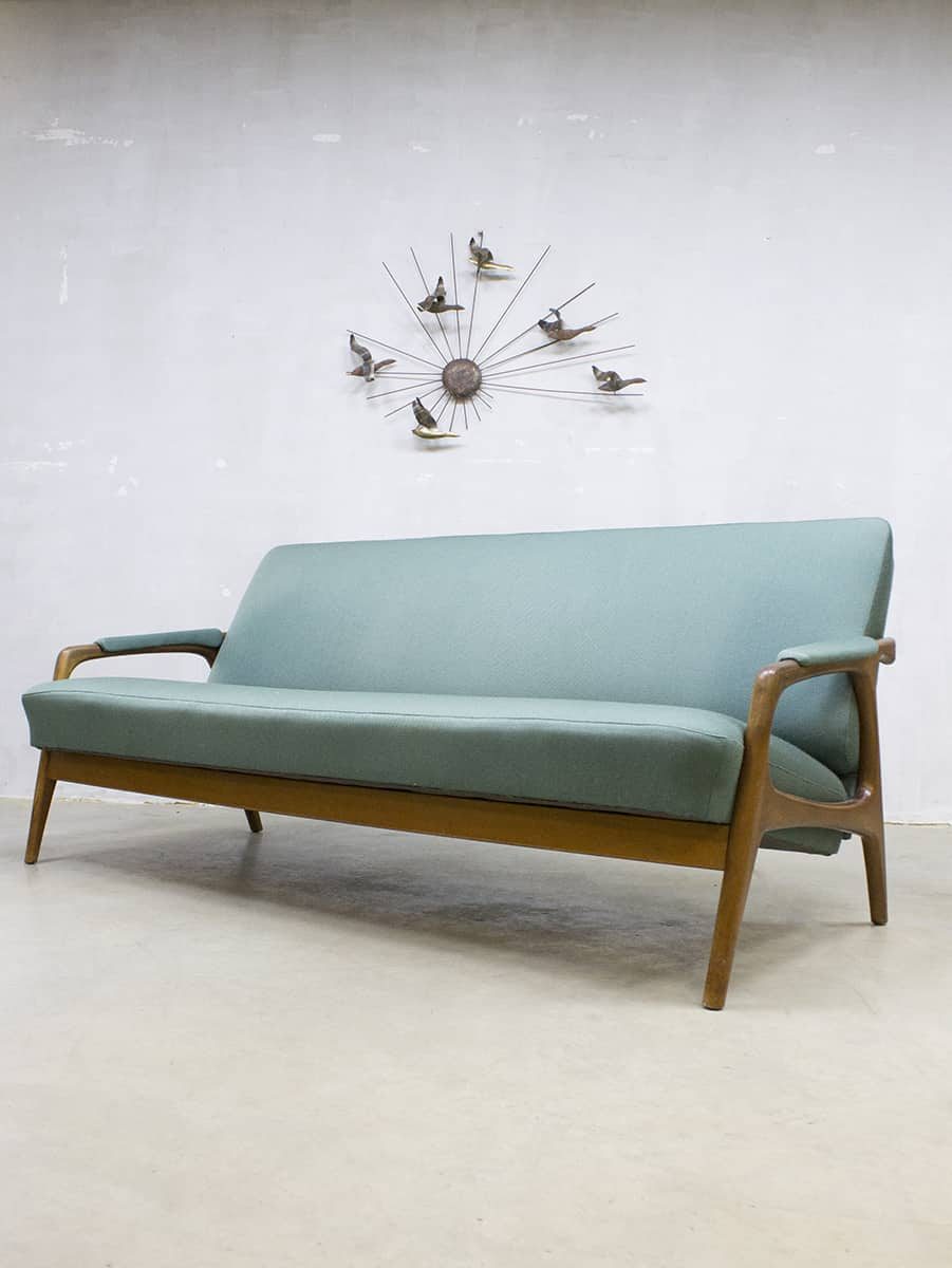 Design Bank Met Chaise Longue.Vintage Danish Design Lounge Set Sofa Armchairs Bank Fauteuils Deens