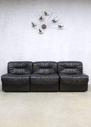 vintage design leather sofa leren bank jaren 60 de sede design