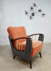 Vintage retro arm chair lounge chair fauteuil Art Deco style