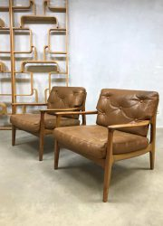 vintage arm chair lounge fauteuil design Eugen Schmidt Soloform