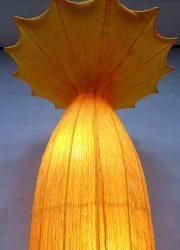 Vintage jaren 80 vloerlamp bloemlamp Nature floor lamp eighties Ayala Serfaty Israel