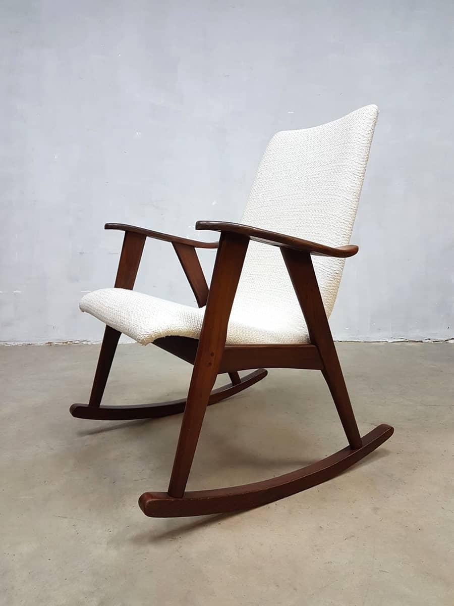 Ongebruikt Vintage schommelstoel rocking chair Webe Louis van Teeffelen YF-52