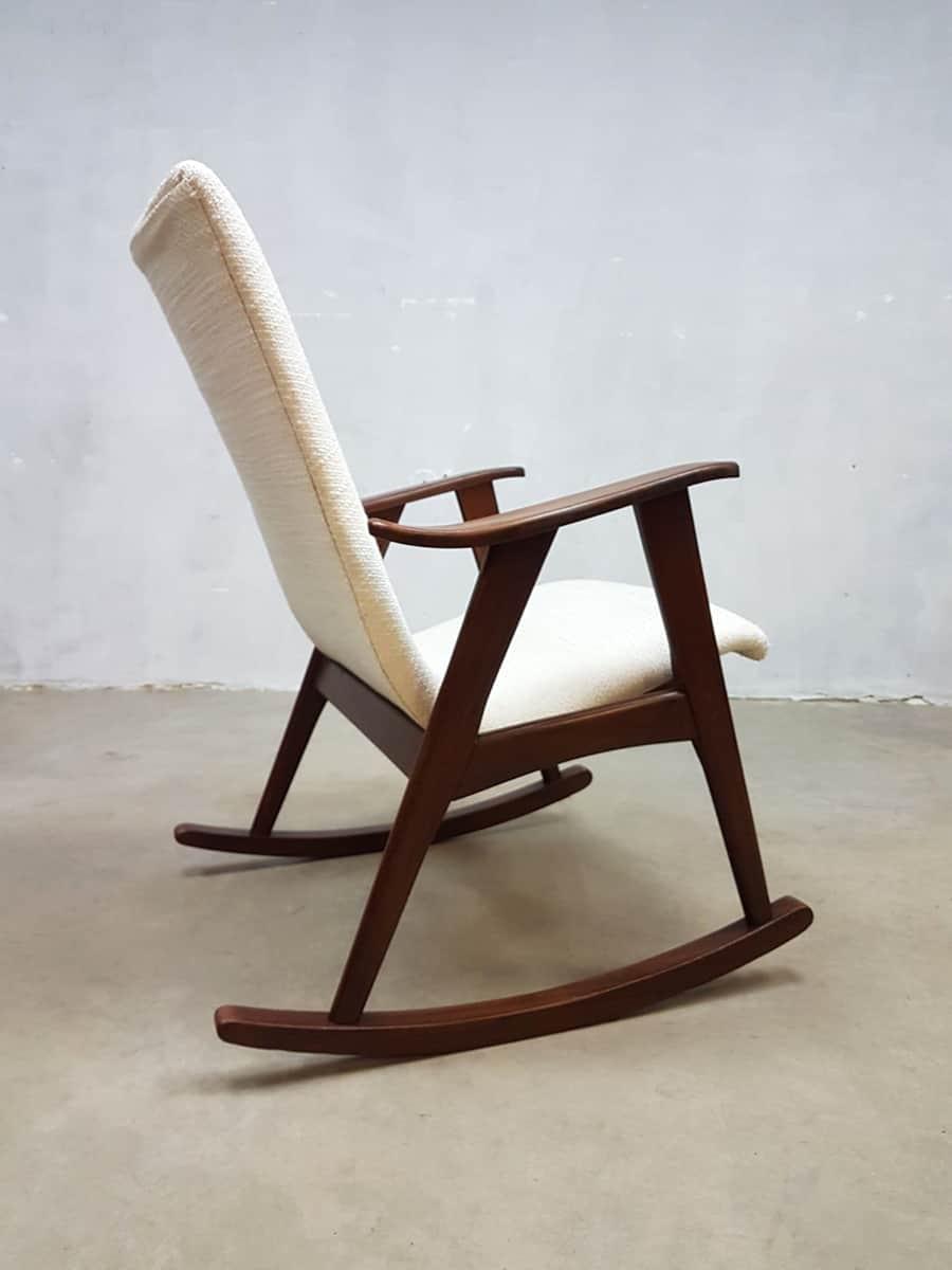 Ongebruikt Vintage schommelstoel rocking chair Webe Louis van Teeffelen MI-03