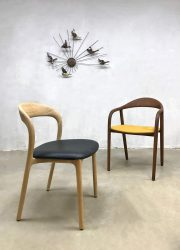 Neva dinner chair dining chair Artisan Danish style wallnut Deense stijl stoel eetkamerstoel