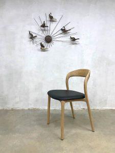 Neva design chair dinner chairs eetkamer stoel eiken light oak