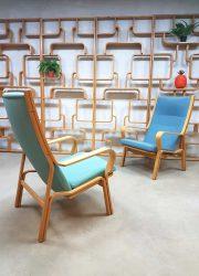 Vintage Danish design armchair lounge fauteuil Hans Wegner