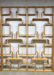 midcentury vintage design room divider wall unit Ludvik Volak wand kast