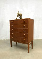 vintage kast ladekast Deens Kai Kristiansen chest of drawers design