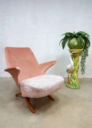 Midcentury vintage Dutch design pinguin chair Theo Ruth Artifort