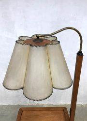 vintage Czech Republic design lamp light side table Jindrich Halabala
