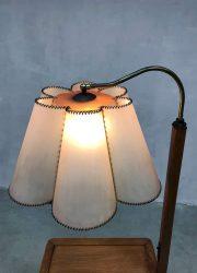 vintage vloer lamp Jindrich Halabala art deco Tsjechië design Jindrich Halabala