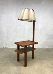 Vintage floor lamp Jindrich Halabala vloer lamp Up BRNO factory