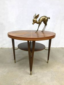 Midcentury modern coffee table Danish design salontafel