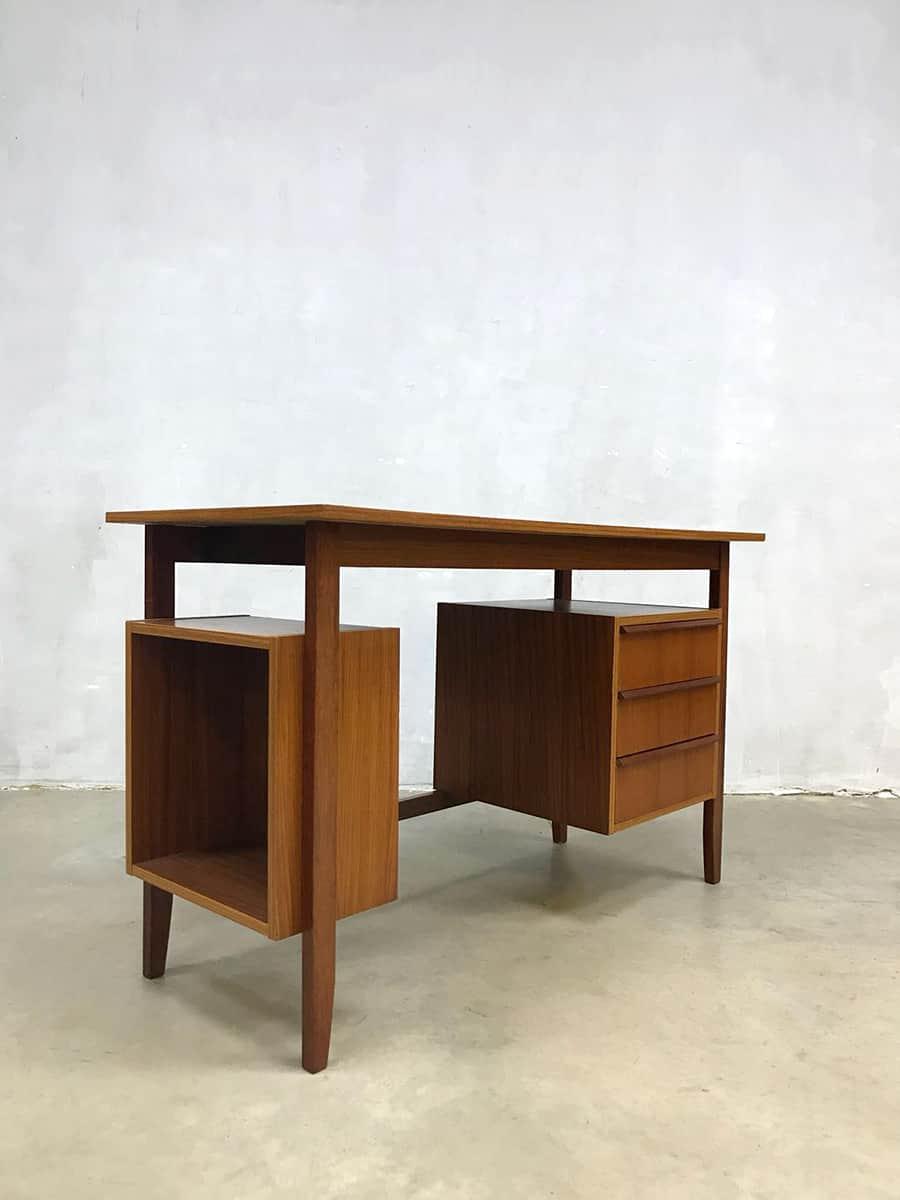 Bureau Retro Design.Vintage Retro Bureau Buro Writing Office Desk Danish Style