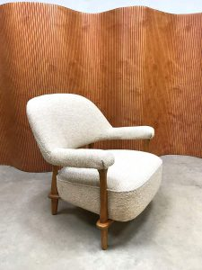 Midcentury modern lounge chair nr. 109 Theo Ruth Artifort Dutch vintage design