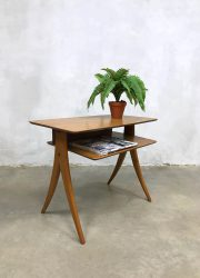 Danish vintage design coffee table side table bijzettafel Deens