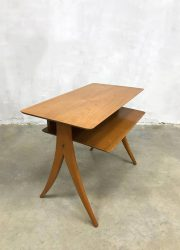 midcentury modern vintage design tv tafel table scissor legs