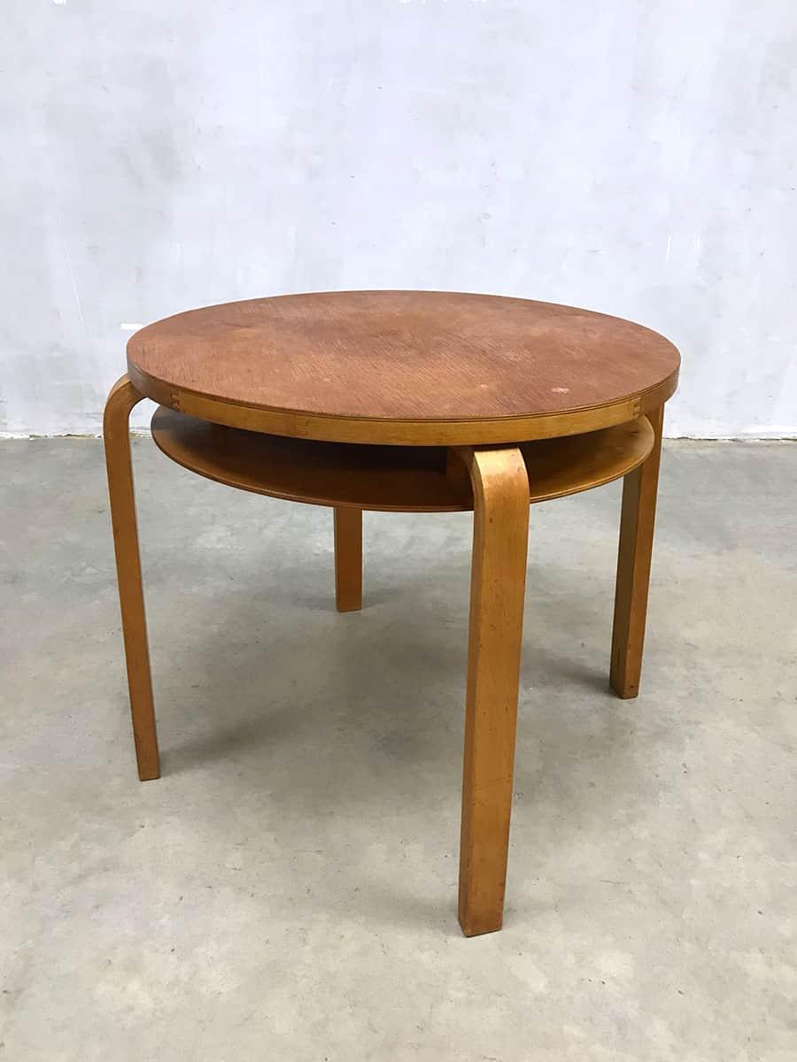 Bijzettafel Modern Design.Vintage Side Table Coffee Table Alvar Aalto Bijzettafel Salontafel