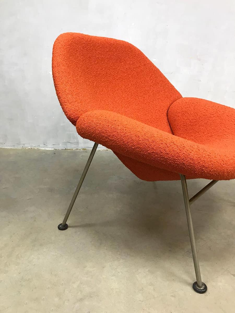 Relax Lounge Stoel.Vintage Design Lounge Chair Fauteuil F555 Pierre Paulin Artifort