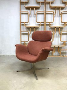 Vintage lounge chair Pierre Paulin F545 big Tulip fauteuil for Artifort