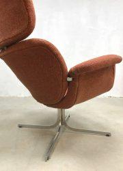 midcentury modern armchair Pierre Paulin F545 big Tulip fauteuil