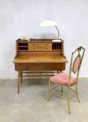 Danish vintage design bureau secretaire midcentury modern desk