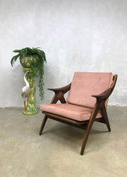vintage design lounge fauteuil armchair Dutch design Gelderland de Ster Nederland