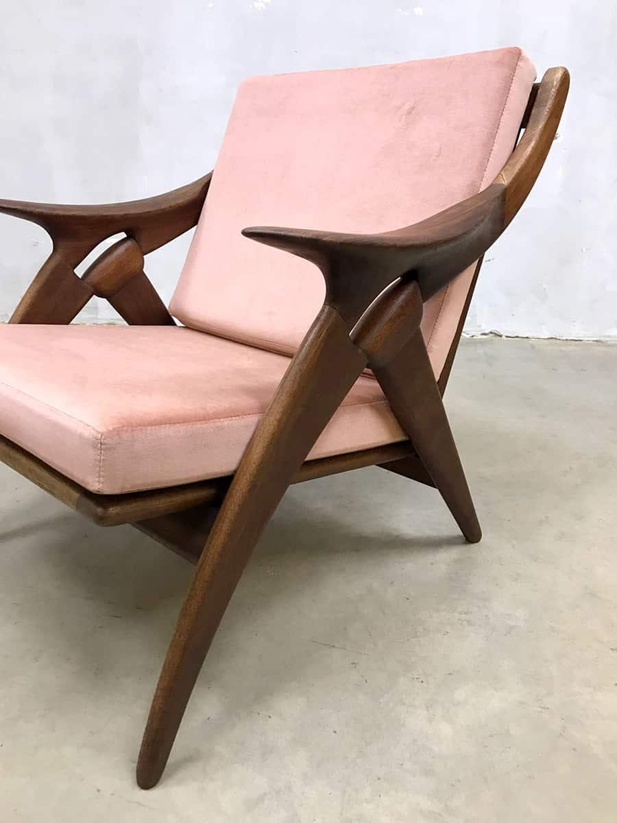 Stoelen Van Gelderland.Vintage Design Armchair The Knot De Knoop Fauteuil De Ster Gelderland