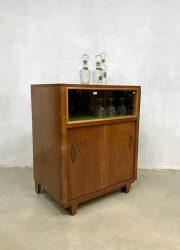 vintage art deco antique cabinet cocktail bar retro design